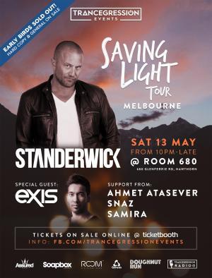 Standerwick Saving Light Tour Melbourne  May