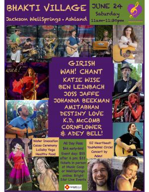 BHAKTI VILLAGE Ashland: 1-day Community Gathering