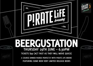 Pirate Life BeerGustation Dinner