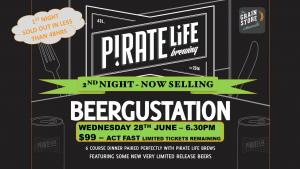 Pirate Life BeerGustation Dinner #2