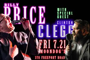 Billy Price Pre-Festival Party with Clinton Clegg