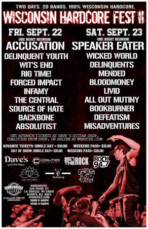 WI Hardcore Fest II ***Full Weekend Pass!***