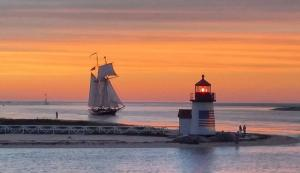 Nantucket Sunset sails