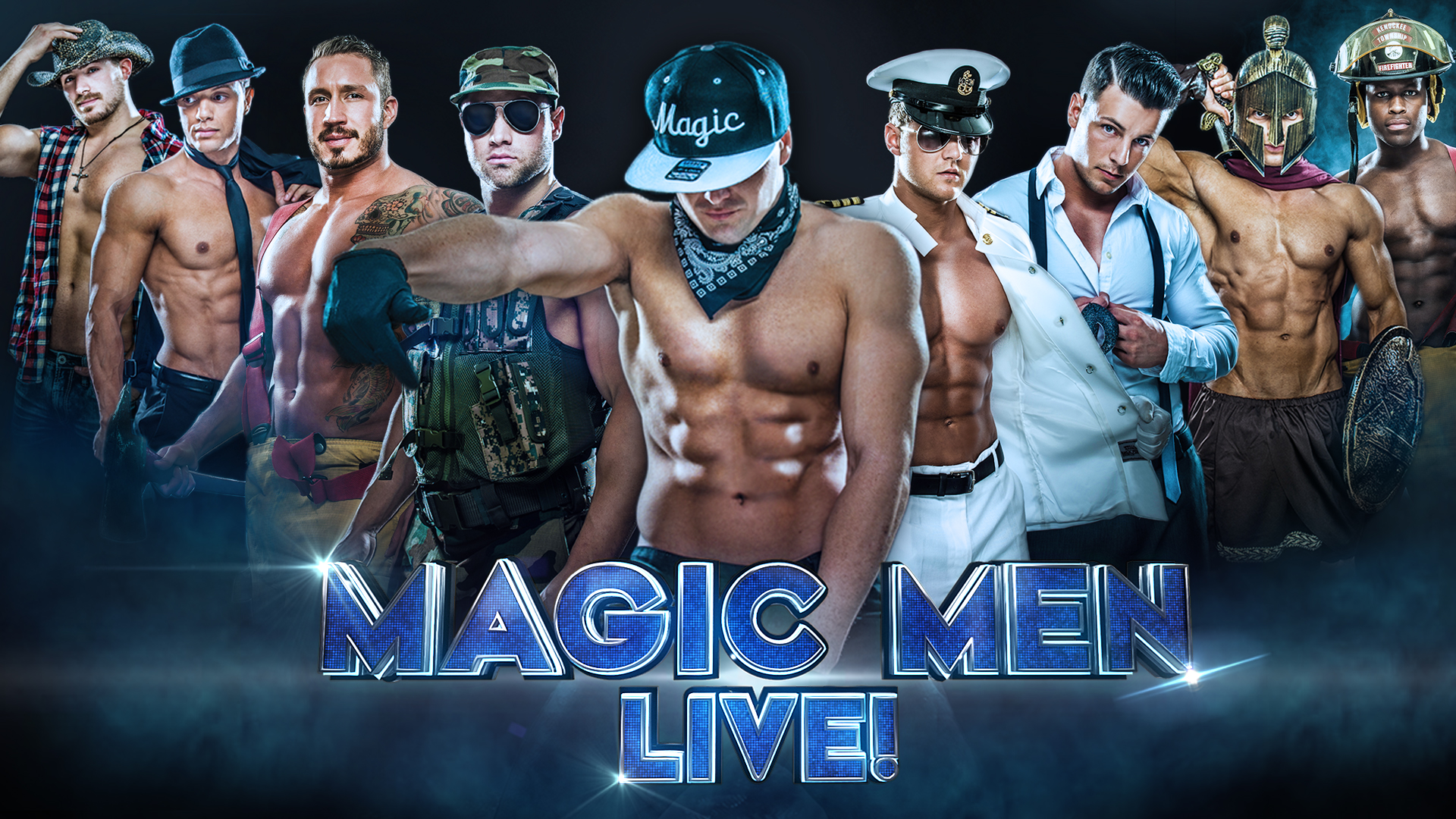 Tickets for magic men live meet greet in denver from showclix meet greet m4hsunfo Images