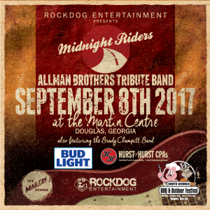 The Midnight Riders w/ Special Guest Jack Pearson