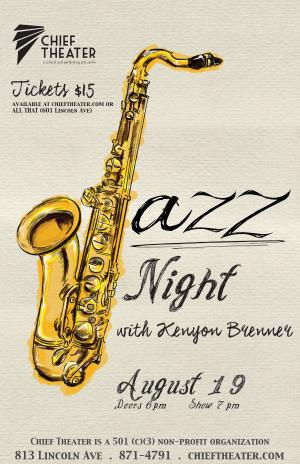 Jazz Night at the Chief with Kenyon Brenner