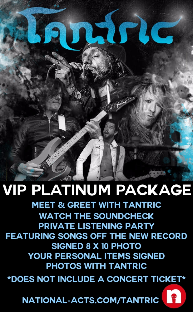 Tickets for tantric vip s barrington il in barrington from the vip platinum package includes meet and greet with tantric watch the soundcheck or private 1 song acoustic performance at bands discretion m4hsunfo