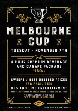 Melbourne Cup - Taylor's Rooftop