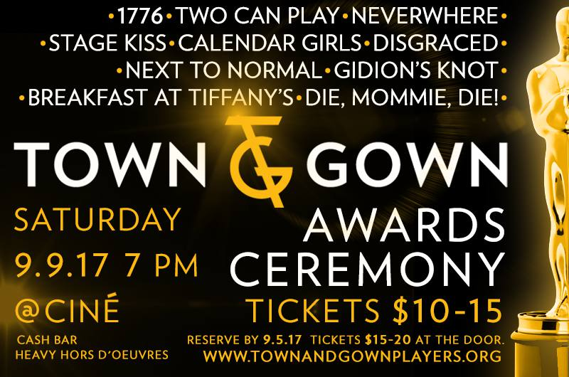 Tickets for Town & Gown Awards Ceremony in Athens from ShowClix