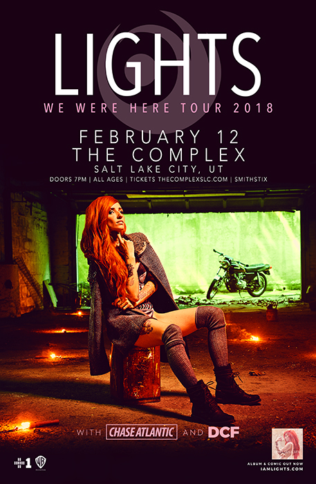 Tickets For Lights We Were Here Tour In Salt Lake City From Showclix