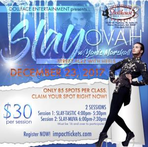 SLAY-OVAH High Heel Workshop w/ YANIS MARSHALL