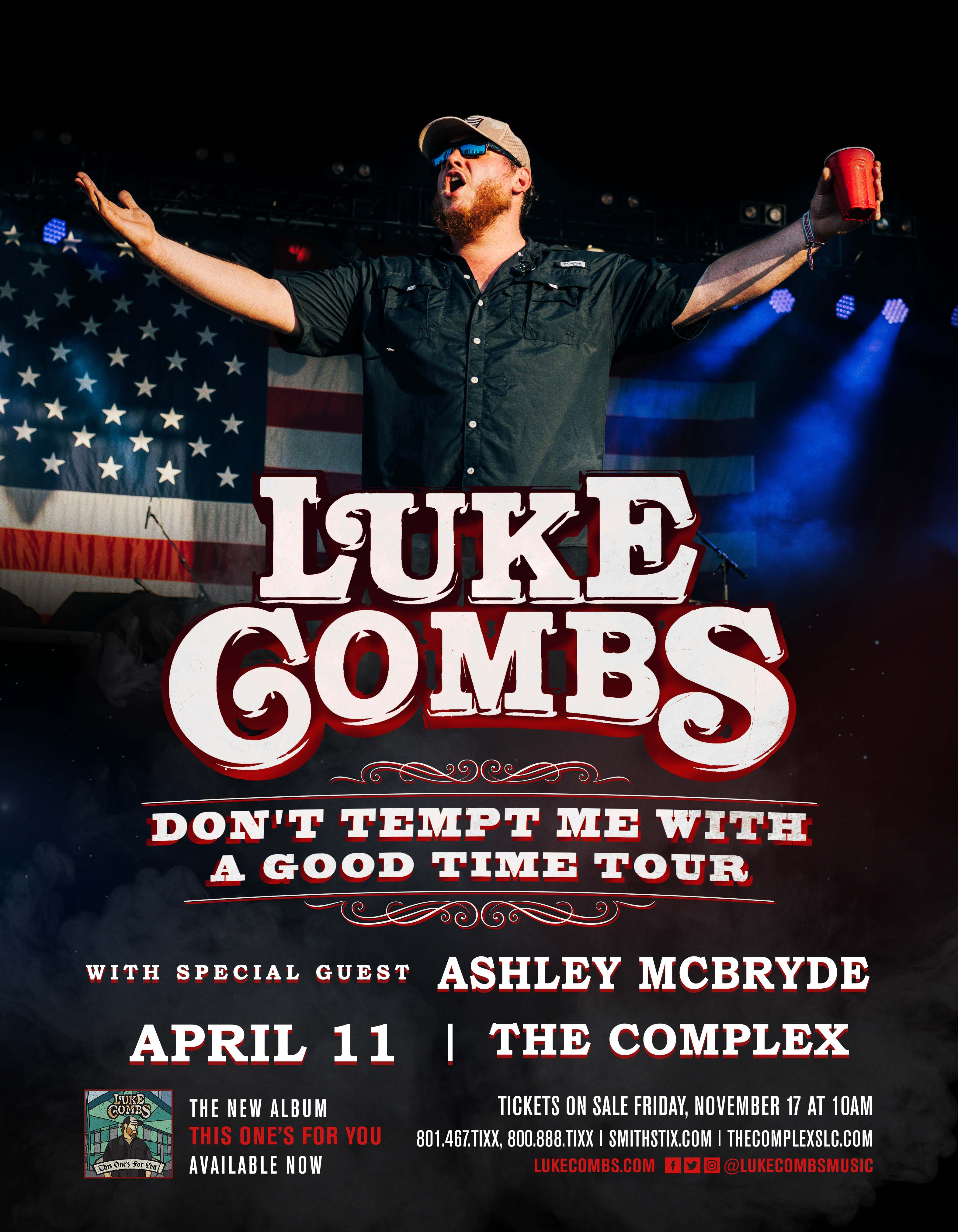 Tickets for luke combs in salt lake city from showclix m4hsunfo
