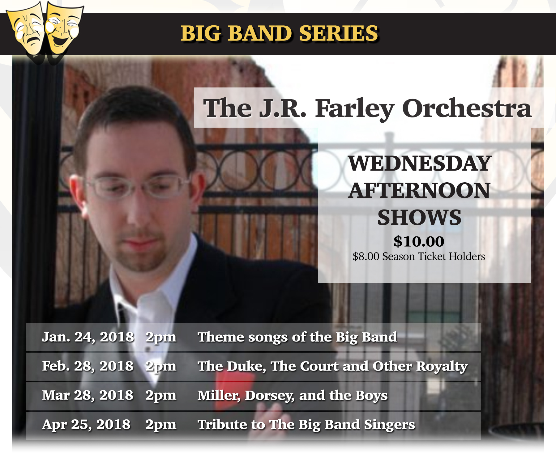Tickets for Big Band in March in New Port Richey from ShowClix