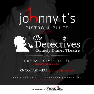 THE DETECTIVES COMEDY DINNER THEATRE