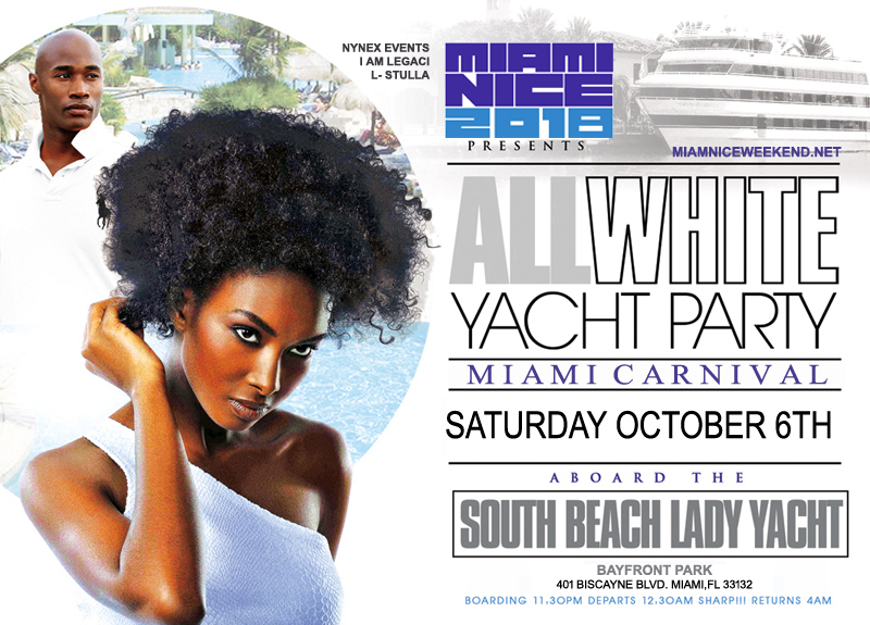 Tickets For The Annual Miami Carnival All White Yacht Party In Miami