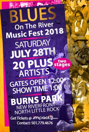Blues On The River Music Fest 2018