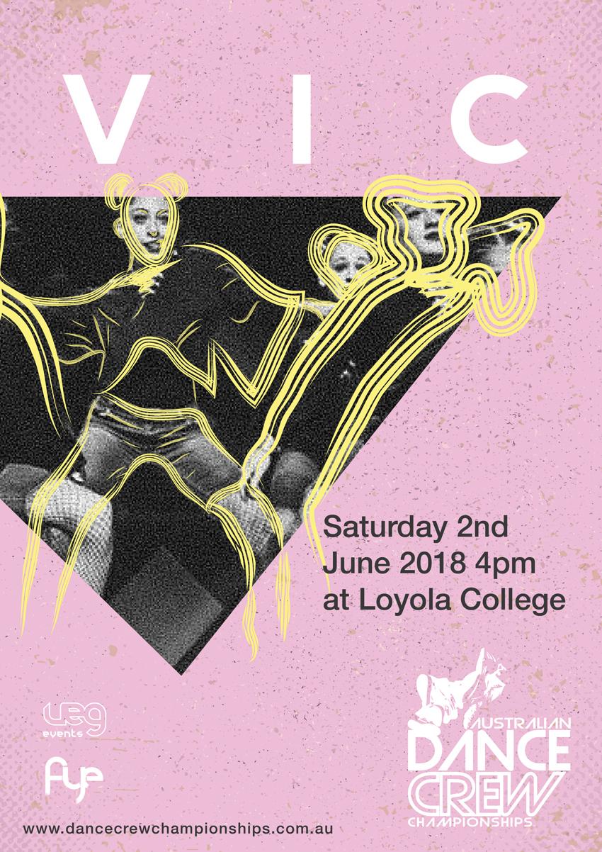 Australian Dance Crew Championships – VIC Preliminaries 2018