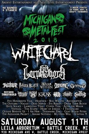 Michigan Metal Fest '18 WHITECHAPEL
