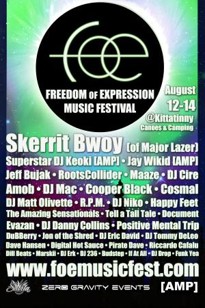 Freedom Of Expression Music Fest.