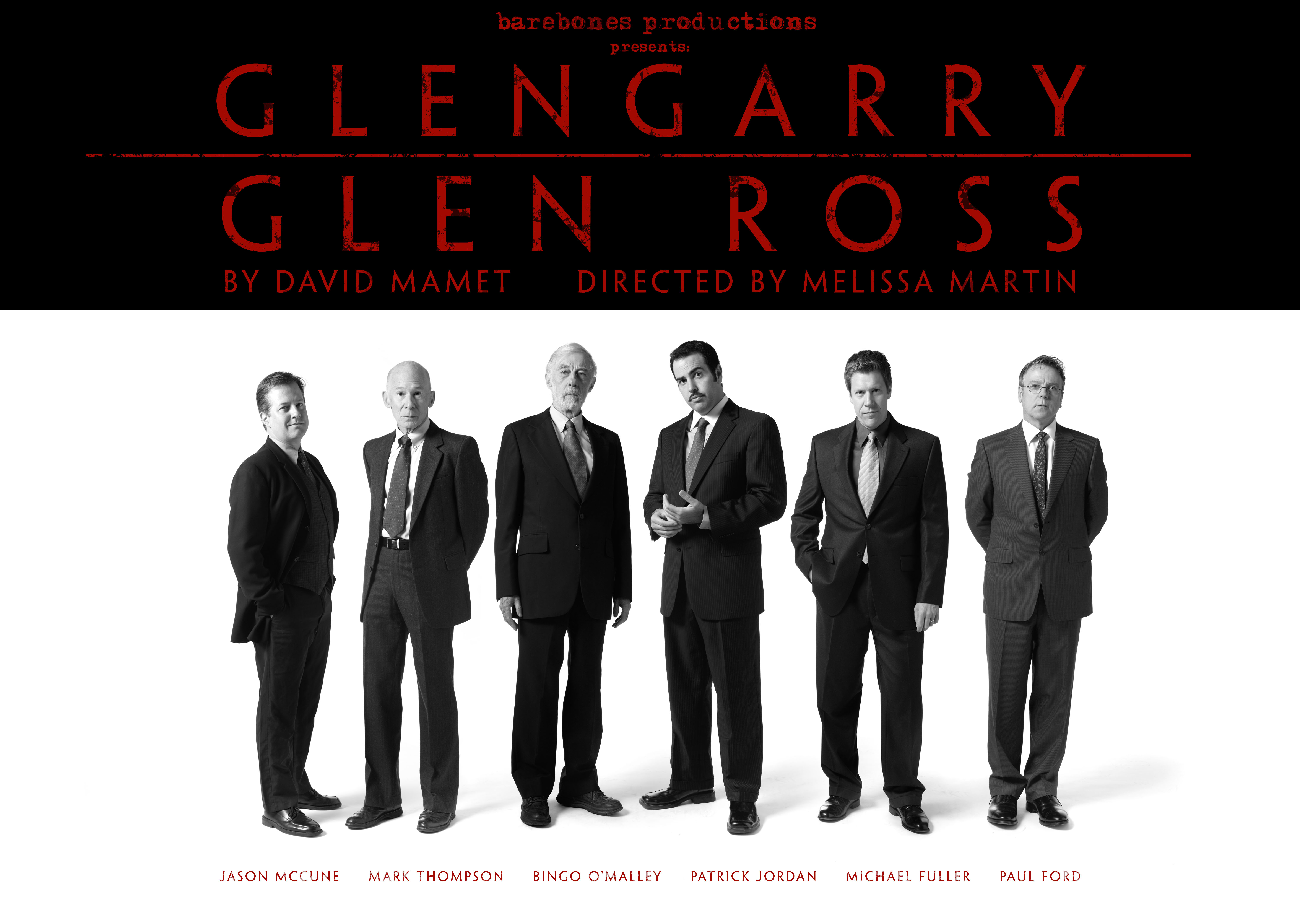 comparison glengarry glen ross and bartleby Ninth track of the hooray for boobies (us version) (lp) by bloodhound gang released in 29th february, 2000 (c) 2000 geffen records, inc lyrics by jimmy pop.
