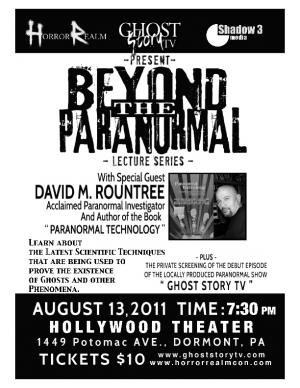 Beyond the Paranormal 8-13-11