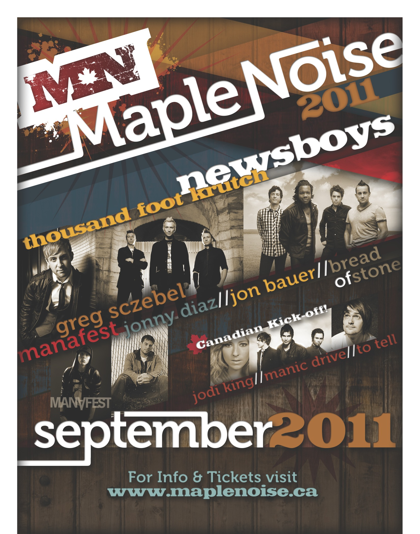 Christian Bands On Tour In Canada