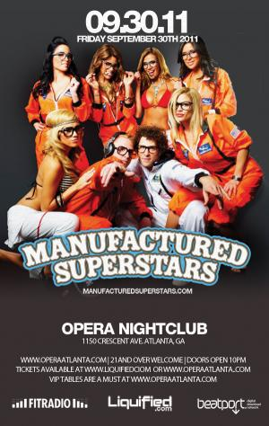 Manufactured Superstars-ATL Nightlife