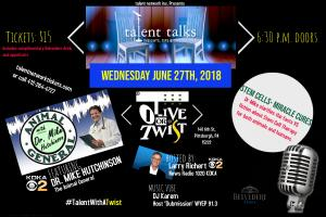 talent talks at Olive or Twist
