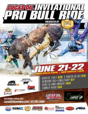 Lucas Oil Pro Bull Riding Invitational- SATURDAY
