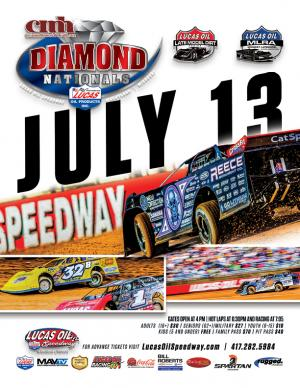 13th Annual CMH Diamond Nationals Saturday