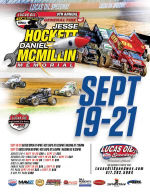 9th Annual ASCS Hockett/McMillin Memorial -THURS.