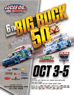 6th Annual Big Buck 50- THURSDAY