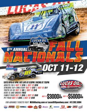 6th Annual  MLRA Fall Nationals - FRIDAY