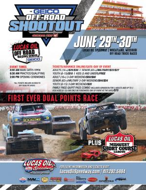 3rd Annual Off Road Shootout Friday