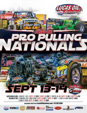 Lucas Oil Pro Pulling League SATURDAY
