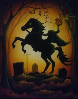 Paint a Headless Horseman with Heather Gleason