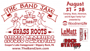 The Band Jam Grass Roots Music Festival 2021