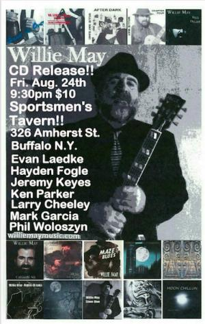 Willie May CD Release