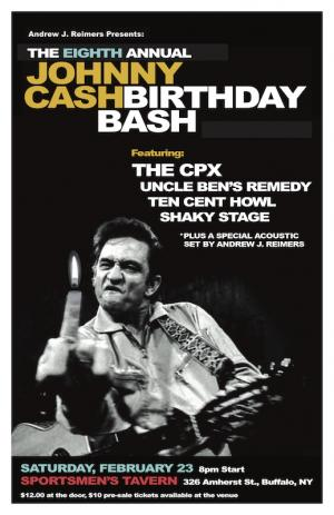Eighth Annual Johnny Cash Birthday Bash