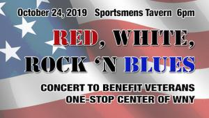 Red White Rock & Blues Veterans Benefit