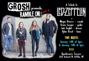 Grosh presents Ramble On part II Show 2